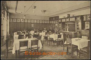 59574 - 1919 Jiříkov (Georgswalde) - interiér restaurace hotelu C