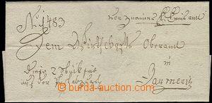 59625 - 1679 skládaný vojenský poselský předrazítkový dopis