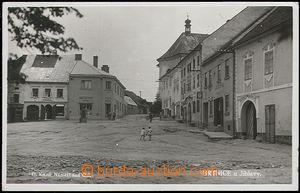 59669 - 1938 Brtnice - náměstí, foto: Knoll; prošlá, dobrý sta