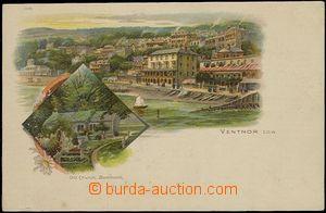59674 - 1900 Ventnor - lithography; Un, good condition