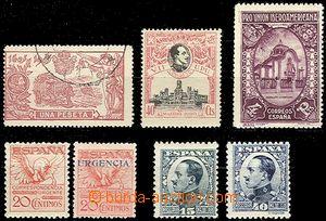 59759 - 1905 Mi.227 used, 275C, 442, 443, 550, 565, 569 II, c.v.. 22