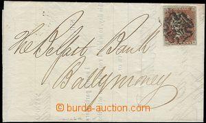 60128 - 1841 tištěný skládaný dopis (National Bank of Scotland)