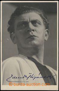 60279 - 1950? ŠTĚPÁNEK Zdeněk, herec, čb fotopohlednice s podpi