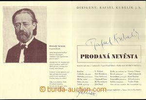 60310 - 1939 KUBELÍK Rafael, dirigent a JERNEK Karel, režisér, po