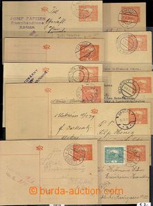60344 - 1919-20 Czechoslovakia I., selection 20 pcs of PC CDV14, mos
