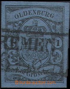 60433 - 1859 Mi.6, wide margins, well preserved, c.v.. 55€