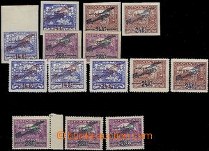 61118 - 1920 Pof.L1-3, issue I, 2x imperforated, perforated 3x L1A,