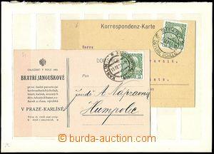 61425 - 1867-1911 sestava 63ks perfinů na starých známkách Rakou