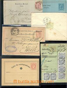 61430 - 1861-1914 AUSTRIA, partie 43ks celin a celistvostí, celiny