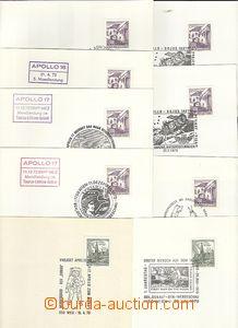 61726 - 1970-75 KOSMOS/ RAKOUSKO  sestava 9ks zajímavých PR na bia