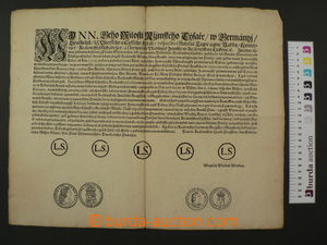 61740 - 1721 Circular Austria-Hungary about/by restriction circulati