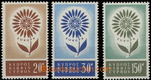 61830 - 1964 Mi.240-242 Europe, mint never hinged, c.v.. 100€