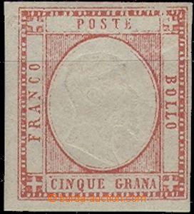 61848 - 1861 Mi.5 Victor Emmanuel II., lightly hinged, less signific