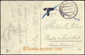 61916 - 1918 pohlednice zaslaná FP s DR Budějovice 3/ 19.V.18 + ř