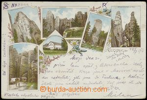 61922 - 1994 Adršpach (Aderspach) - lithography, pub; long address,