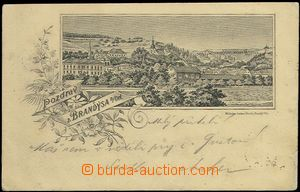 61933 - 1897 Brandýs nad Orlicí - picture collage; long address, U