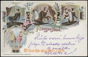 61970 - 1897 Františkovy Lázně (Franzensbad) - 4okénková litografick