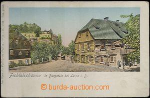 61972 - 1905 SLOUP V Č. (Bürgstein) - restaurant Fichrelschänke,
