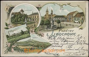 62086 - 1900 Libochovice - lithography, factory; long address, Us, b