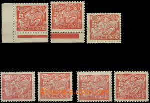 62137 -  Pof.173A+B  issue Agriculture and Science, comp. 7 pcs of s