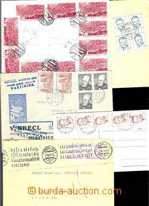 62175 - 1953 sestava 5ks celistvostí, z toho 4x dopis a 1x pohledni