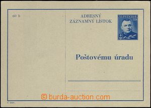 62186 - 1940 CAZ2, Tiso 50h, small wrinkle, otherwise clear, well pr