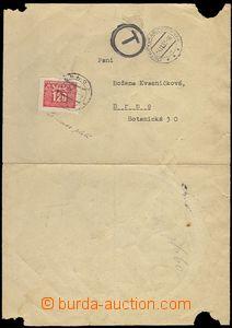 62229 - 1953 Ostrov u Karlových Varů, nevyplaceně zaslané vyrozu