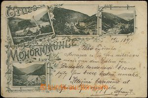 62308 - 1897 Krkonoše - 4okénková, Spálený Mlýn (Mohornmühle)