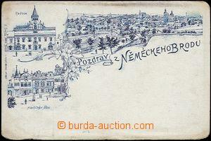 62326 - 1898 Havlíčkův Brod (Německý Brod) - styl předchůdce
