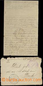 62361 - 1918? Čsl. vojsko na Rusi - přední strana dopisu s razít