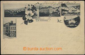 62453 - 1894 Šumperk (Mähr. Schönberg) - 5okénková koláž; DA, prošlá