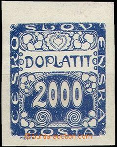 62455 - 1919 Pof.DL14 Ornament, koncová hodnota, krajový kus, pěk