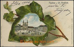 62486 - 1900 UHERSKÉ HRADIŠTĚ - collage ivy; long address, Us, good