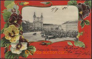 62491 - 1901 Uherské Hradiště - lithography; long address, Us, good