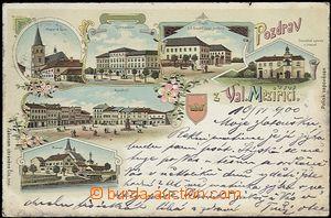 62510 - 1900 Valašské Meziříčí - litografická koláž, pivovar; DA, pr