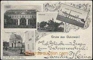 62525 - 1903 Dukovany - 4-okénková, lihovar, zámek; DA, prošlá, strž