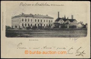 62535 - 1900 Olomouc - agricultural school and malt-house on/for Hra
