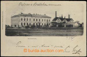 62535 - 1900 Olomouc - rolnická škola a sladovna na Hradisku; DA, pr