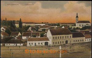 62538 - 1911 Hrušovany above Jevišovka (Grusbach) - pub, view of c