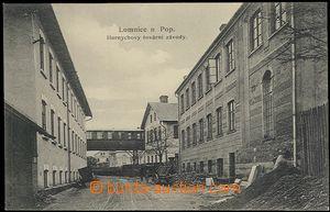 62557 - 1910 Lomnice nad Popelkou - Hornychova továrna; nepoužitá, l