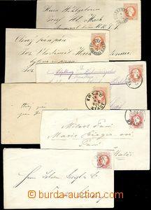 62579 - 1874-12 comp. 14 pcs of postal stationery covers, 12x Us, 2x