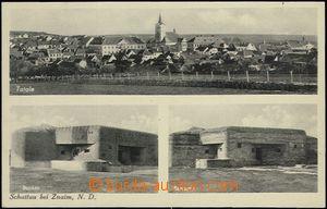 62580 - 1935 Šatov (Schattau) - 3okénková, celkový pohled, 2x bu