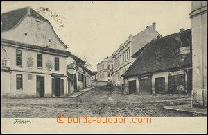 62582 - 1905 Tišnov - view of street; long address, Us, good conditi