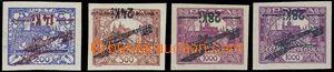 62599 - 1920 Pof.L1P-L3P, issue I, inverted overprint, value 28Kč/1