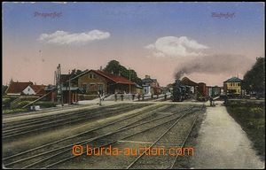 62634 - 1916 Pragersko (Pragerhof) - railway-station, train; Un, lig