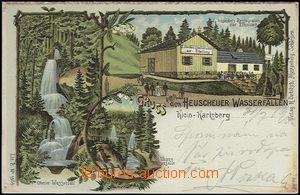 62717 - 1900 Karlówek (Klein-Karlsberg) - litografická koláž, re