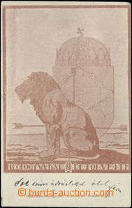 62743 - 1921 maďarská iredenta, alegorie poraženého Uherska; pro