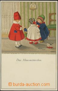 62761 - 1920 EBNER P.: Play on/for maminku, lithography, issued Munk
