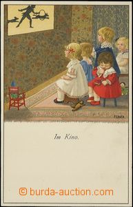 62762 - 1920 EBNER P.: Play on/for cinema, lithography, issued Munk,
