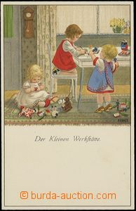 62764 - 1920 EBNER P.: Play on/for dílnu, lithography, issued Munk,